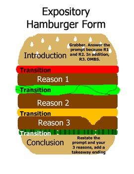 hamburger essay structure